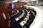 The Nevada Senate works at the Legislative Building in Carson City, Nev., on Friday, April 3, 2015. <br /> Photo by Cathleen Allison