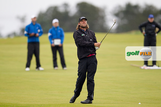 Johan Carlsson (SWE) on the 9th during round 3 of the Aberdeen Asset Management Scottish Open 2017, Dundonald Links, Troon, Ayrshire, Scotland. 15/07/2017.<br /> Picture Fran Caffrey / Golffile.ie<br /> <br /> All photo usage must carry mandatory copyright credit (&copy; Golffile | Fran Caffrey)