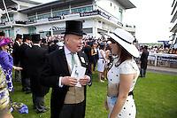 Julian Fellowes and Princess Eugenie