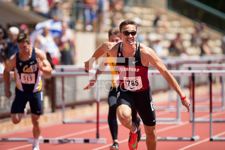 STANFORD, CA - May 1, 2016:  Stanford hosts  the Payton Jordan Invitational at Cobb Track & Angell Field.