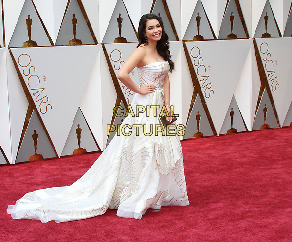 26 February 2017 - Hollywood, California - Aulii Cravalho. 89th Annual Academy Awards presented by the Academy of Motion Picture Arts and Sciences held at Hollywood &amp; Highland Center. <br /> CAP/ADM<br /> &copy;ADM/Capital Pictures