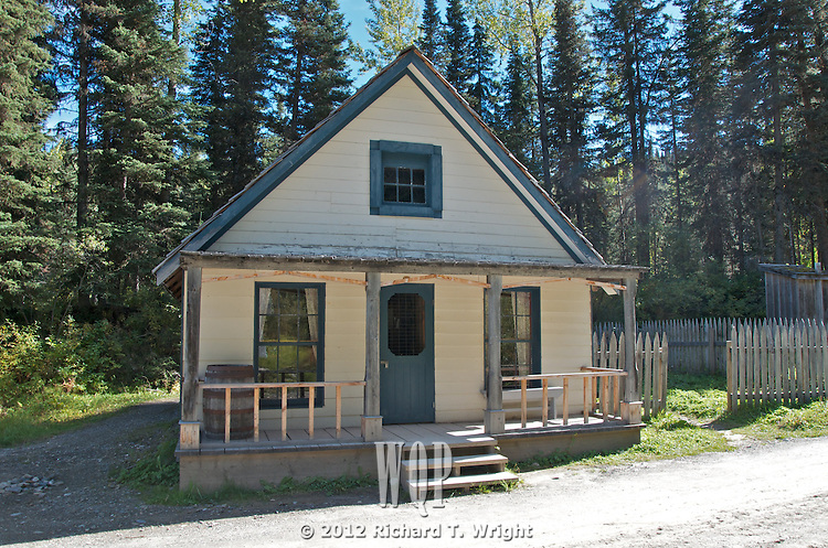 The Houser House in Barkerville, B.C.