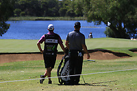 Ryan Fox (NZL) in action on the 10th during Round 3 of the ISPS Handa World Super 6 Perth at Lake Karrinyup Country Club on the Saturday 10th February 2018.<br /> Picture:  Thos Caffrey / www.golffile.ie<br /> <br /> All photo usage must carry mandatory copyright credit (&copy; Golffile | Thos Caffrey)