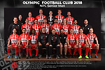 Olympic FC Team Photos 2018