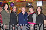 RETIREMENT: Bridget O'Connor, Camp who retired from the KDYS after 21 years celebrating with member's of West Kerry Youth Clubs at Fitzgerald bar, Camp on Saturday l-r: Donna Mulligan (Annascual Y.C.), Amy Mitchell (Lispole Y.C.), Bridget O'Connor, Mary Galvin Lispole Y.C.) and Joan Lyne (Annascual Y.C.).