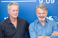 "Sam Neill, Bryan Brown at the ""Sweet Country"" photocall, 74th Venice Film Festival in Italy on 6 September 2017.<br /> <br /> Photo: Kristina Afanasyeva/Featureflash/SilverHub<br /> 0208 004 5359<br /> sales@silverhubmedia.com"