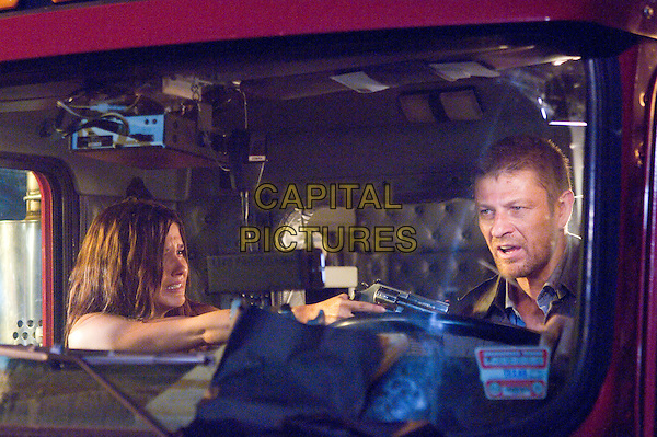 Sophia Bush, Sean Bean<br /> in The Hitcher (2007) <br /> *Filmstill - Editorial Use Only*<br /> CAP/NFS<br /> Image supplied by Capital Pictures