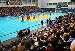 08.01.2019, Hohenschoenhausen, Berlin, GER, Handball WM, DHB,  TRAINING, im Bild <br /> Hallen&uuml;bersicht<br /> <br />      <br /> Foto &copy; nordphoto / Engler