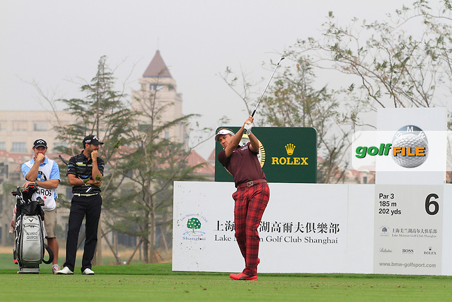 Ian Poulter (ENG) on the 6th on Day 3 of the BMW Masters 2012 at Lake Malaren Golf Club, Shanghai, China, Tuesday 26/10/12...(Photo www.golffile.ie)