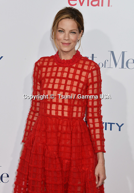 Michelle Monaghan  at the The Best of Me premiere at the Regal Theatre inLos Angeles.