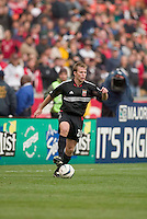 D.C. United's Bryan Namoff.  DC United defeated the San Jose Earthquakes 2 to 1 during the MLS season opener at RFK Stadium, Washington, DC, on April 3, 2004.