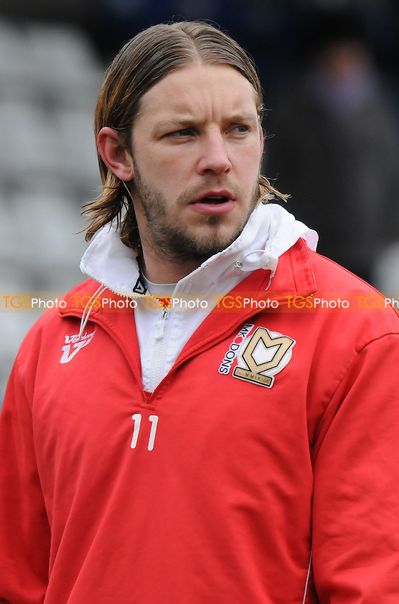 MK Dons' Alan Smith - Hartlepool United vs MK Dons - NPower League One Football at Victoria Park, Hartlepool - 29/03/13 - MANDATORY CREDIT: Steven White/TGSPHOTO - Self billing applies where appropriate - 0845 094 6026 - contact@tgsphoto.co.uk - NO UNPAID USE