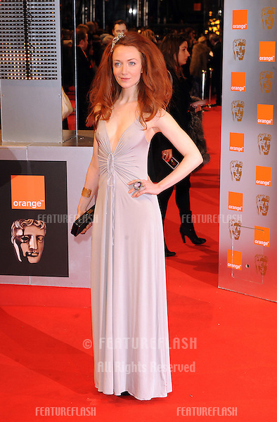 Olivia Grant arriving 2010 BAFTA Film Awards at the Royal Opera House, Covent Garden, London.   21/02/2010   Picture by: Gerry Copper / Featureflash