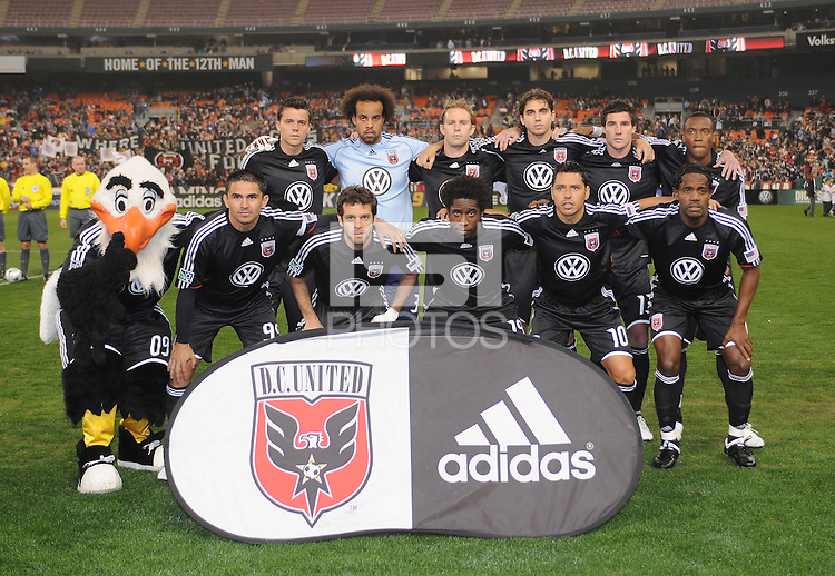 DC United Starting Eleven. Chicago Fire tied DC United 1-1 at RFK Stadium, Saturday March 28, 2009.