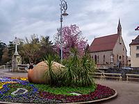 Heilig Geist Kirche in Meran-Merano, Bozen &ndash; S&uuml;dtirol, Italien<br /> Holy Spirit church, Meran-Merano, province Bozen-South Tyrol, Italy