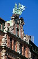 Deutschland, Hamburg, Globus-Hof am Nicolaifleet