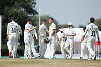 Joe Weatherley's of Hampshire CCC undefeated 64 steered the visitors to victory during Middlesex CCC vs Hampshire CCC, Bob Willis Trophy Cricket at Radlett Cricket Club on 11th August 2020