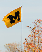 The University of Michigan football team beat the University of Iowa, 42-17, on Senior Day at Michigan Stadium in Ann Arbor, Mich., on November 17, 2012.