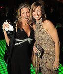Melissa Ratcliff and Stephanie Milam at the Gala on the Green benefitting the Discovery Green Conservancy Saturday Feb. 27,2010. (Dave Rossman Photo)
