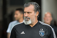San Jose, CA - Tuesday June 11, 2019: Carlos Roa before the US Open Cup match between the San Jose Earthquakes and Sacramento Republic FC at Avaya Stadium.