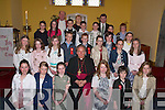 5th class pupils from Spa national School, Spa with the Bishop of Kerry Bill Murphy and their teachers and Fr Denis O'Mahony after their confirmation at the Church of thePurifcation, Churchill, on Monday.. .    Copyright Kerry's Eye 2008