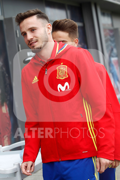 Spain's Saul Niguez after training session. March 21,2017.(ALTERPHOTOS/Acero)