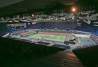 29-01-2014,Czech Republic, Ostrava,  Cez Arena, Davis-cup Czech Republic vs Netherlands, practice, <br /> Photo: Henk Koster