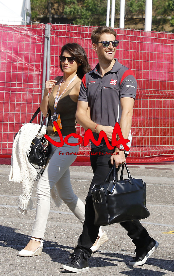 Romain Grosjean (FRA) Haas at  Formula 1, Spanish Grand Prix, Barcelona.