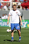 United States' Frank Simek warms up before the game on Sunday, March 25th, 2007 at Raymond James Stadium in Tampa, Florida. The United States Men's National Team defeated Ecuador 3-1 in a men's international friendly.