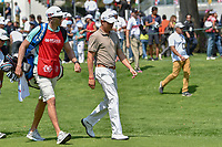 Justin Thomas (USA) departs the 10th tee during round 1 of the World Golf Championships, Mexico, Club De Golf Chapultepec, Mexico City, Mexico. 3/1/2018.<br /> Picture: Golffile | Ken Murray<br /> <br /> <br /> All photo usage must carry mandatory copyright credit (&copy; Golffile | Ken Murray)