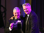 Cameron Mackintosh and Eric Schaeffer at the 2017 Sondheim Award Gala at the Italian Embassy on March 20, 2017 in Washington, D.C..