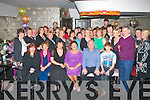 RETIREMENT: Ann Boyle, Upper Rock St, Tralee (seated 3rd from right) enjoying her retirement reception in Kirbys Brogue, Tralee on Friday night with her colleagues from the Department of Revenue, Strand Rd, Tralee after 38yrs.