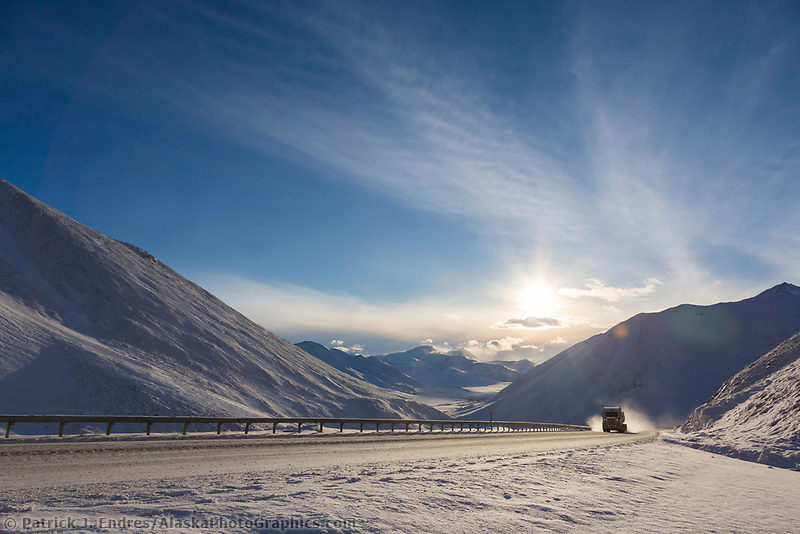 Atigun pass, Brooks Range, James Dalton Highway, Alaska.