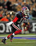 7 December 2008: Buffalo Bills' wide receiver Roscoe Parrish in action against the Miami Dolphins during the first regular season NFL game ever played in Canada. The Dolphins defeated the Bills 16-3 at the Rogers Centre in Toronto, Ontario. ..Mandatory Photo Credit: Ed Wolfstein Photo