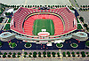 Aerial photograph of the Kansas City Chiefs Football Stadium