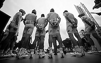Team Astana presentation <br /> <br /> 1st Brussels Cycling Classic<br /> Brussels - Brussels: 197km