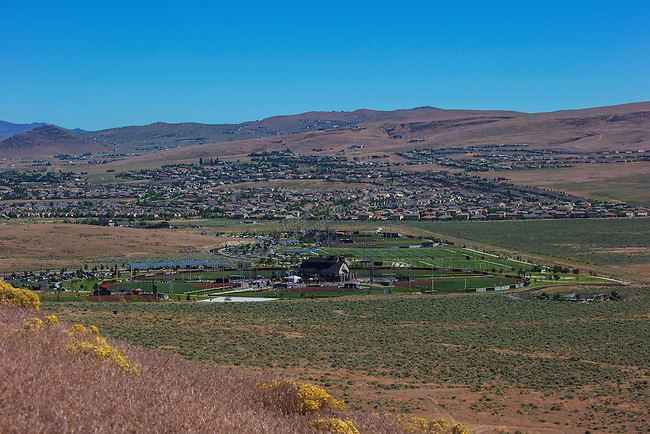 An image from the Golden Eagle Regional Park in Sparks, Nevada