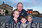 9881: Bertie Dillon with his family Timmy, Garry & Orla from Leim, Kilflynn.