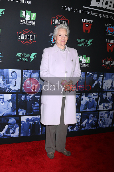 """Lee Meriwether<br /> at """"Excelsior! A Celebration of the Amazing, Fantastic, Incredible & Uncanny Life of Stan Lee,"""" TCL Chinese Theater, Hollywood, CA 01-30-19<br /> David Edwards/DailyCeleb.com 818-249-4998"""