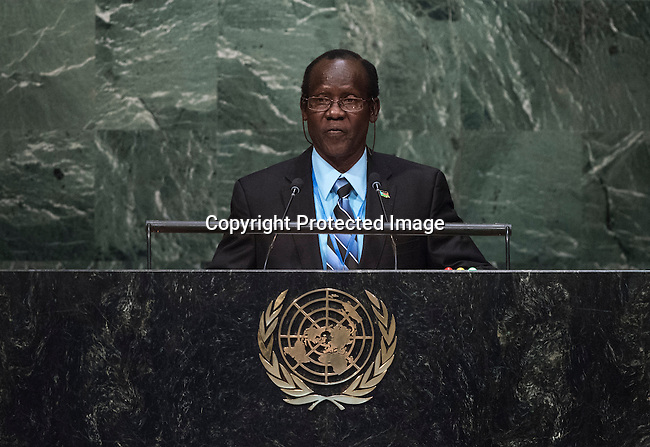 His Excellency James Wani Igga, Vice-President of the Republic of South Sudan  <br /> General Assembly Seventieth session 9th plenary meeting: High-level plenary meeting of the (6th meeting)