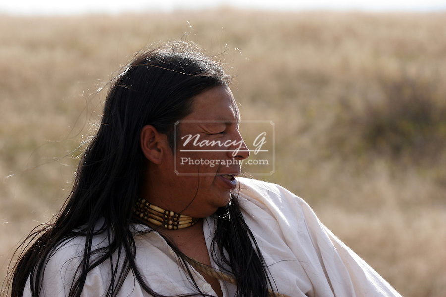 A Native American Indian Male Portrait