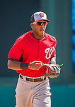 21 March 2015: Washington outfielder Rafael Bautista in action during a Spring Training Split Squad game against the Atlanta Braves at Champion Stadium at the ESPN Wide World of Sports Complex in Kissimmee, Florida. The Braves defeated the Nationals 5-2 in Grapefruit League play. Mandatory Credit: Ed Wolfstein Photo *** RAW (NEF) Image File Available ***