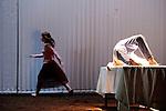 LE DERNIER TESTAMENT DE MELANIE LAURENTD'après Le Dernier Testament de Ben Zion Avrohom de James FreyAdaptation Mélanie Laurent et Charlotte FarcetMise en scène Mélanie LaurentAssistante à la mise en scène Amélie WendlingDramaturgie Charlotte FarcetScénographie Marc Lainé et Stephan ZimmerliCréation Lumières Philippe BerthoméChorégraphie Arthur PeroleMusiques Marc Chouarain en collaboration avec Mélanie LaurentCostumes Béatrice RionMaquillage et coiffure Heidi BaumbergerVidéo Renaud VerceyRéalisation et régie son Maxime ImbertAccessoires Lionel ScreveRégie générale Karl GobynRégie lumière Pauline MouchelArrangement choeur Jérôme BillyTraduction anglaise et régie surtitre Mike SensÉquipe de tournage Alexandre Leglise (Chef opérateur), Raphaël Dougé (Assistant caméra), Antoine Roux (Chef électro), Grégory Loffredo (Cascadeur)Avec : Lou de LââgeCréation au Théâtre du Gymnase le 20 septembre 2016Compagnie : Cadre : Date : 25/01/2017Lieu : Théâtre de ChaillotVille : Paris© Laurent Paillier / photosdedanse.com