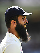 25th March 2018, Auckland, New Zealand;  Moeen Ali. New Zealand versus England. 1st day-night test match. Eden Park, Auckland, New Zealand. Day 4
