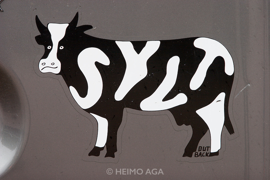 The famous Sylt cow.