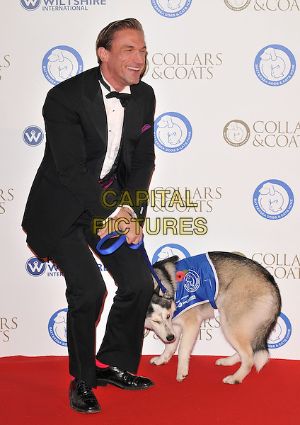 Dr Christian Jessen attends the Collars &amp; Coats Gala Ball 2015, Battersea Evolution, Battersea Park, London, England, UK, on Thursday 12 November 2015. <br /> CAP/CAN<br /> &copy;CAN/Capital Pictures