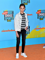 SANTA MONICA, USA. July 11, 2019: Ryan Alessi at Nickelodeon's Kids' Choice Sports Awards 2019 at Barker Hangar.<br /> Picture: Paul Smith/Featureflash