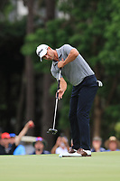 Adam Scott (AUS) on the 18th green during Round 4 of the Australian PGA Championship at  RACV Royal Pines Resort, Gold Coast, Queensland, Australia. 22/12/2019.<br /> Picture Thos Caffrey / Golffile.ie<br /> <br /> All photo usage must carry mandatory copyright credit (© Golffile   Thos Caffrey)