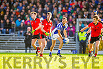 Sean Sheehan Templenoe  in Action Against Jeremiah Hoare Glenbeigh in the Junior County Final at Fitzgerald Stadium Killarney on Sunday.