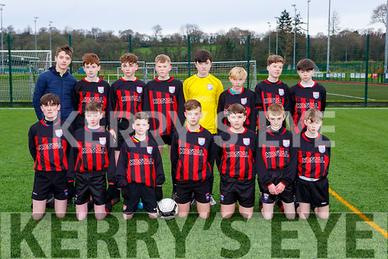 The Mastergeeha team that played Killarney Celtic  in Killarney on Saturday
